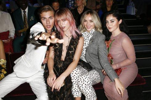 Từ trái qua phải: người mẫu Lucky Blue Smith, Pyper America Smith, Daisie Smith, Starlie Smith