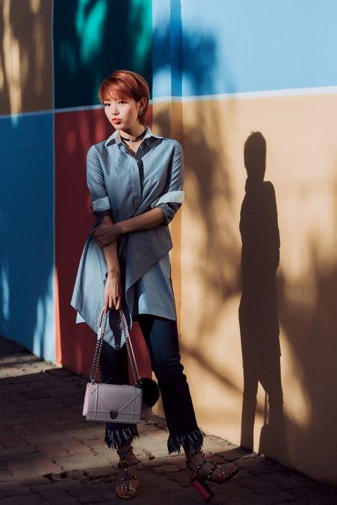 Phong cách thời trang của Minh Hằng - 06