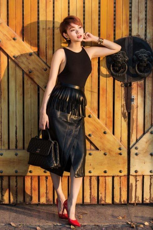 Phong cách thời trang của Minh Hằng - 08