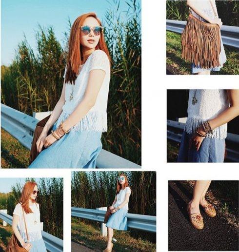 Phong cách thời trang của Minh Hằng - 11