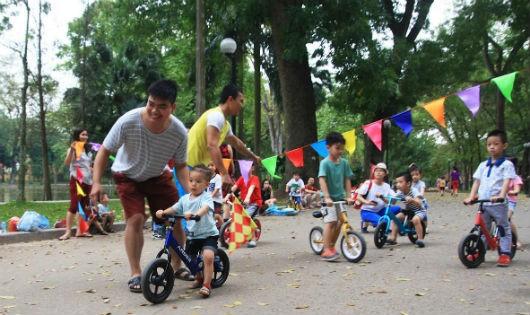 Sân chơi gắn kết gia đình và tình yêu thương trẻ nhỏ