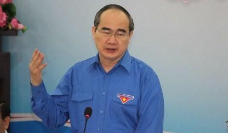 Bí thư Thành ủy TP HCM Nguyễn Thiện Nhân.
