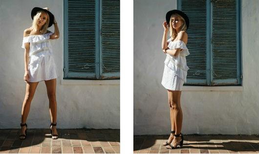 Muôn vàn kiểu đầm trắng hợp mốt cho ngày hè