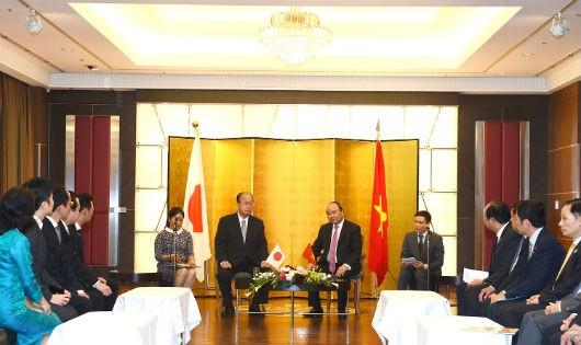 Một số hoạt động của thủ tướng Nguyễn Xuân Phúc tại Nhật Bản