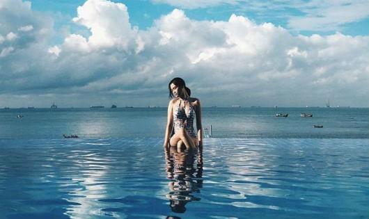 Những bể bơi tràn bờ mới toanh, giúp 'giải nhiệt 40 độ' ngày hè