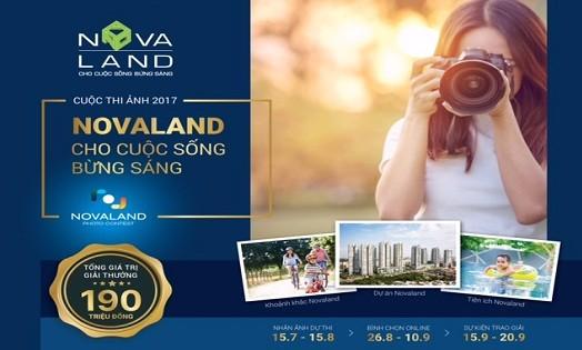 """Khởi động cuộc thi ảnh """"Novaland- cho cuộc sống bừng sáng"""""""