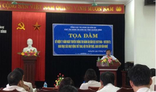 Thi hành án dân sự tỉnh Quảng Bình tự hào 24 năm xây dựng và phát triển