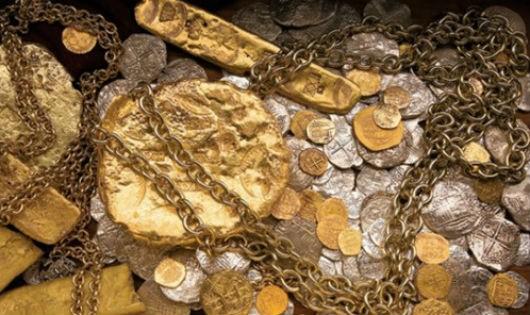 Số vàng bạc trong những con tàu đắm có thể lên đến hàng tỷ đôla