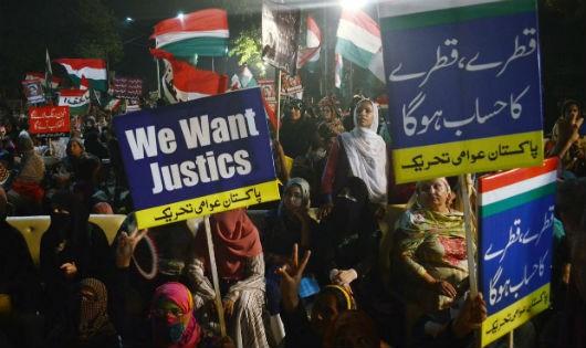 Vướng án tham nhũng, Thủ tướng Pakistan Nawaz Sharif từ chức