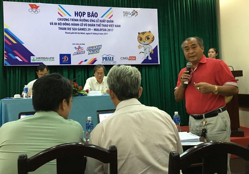 """Tân Hiệp Phát tài trợ """"Chương trình hưởng ứng lễ xuất quân và đi bộ đồng hành cổ vũ đoàn thể thao Việt Nam tham dự SEA Games 29 - Malaysia 2017"""""""