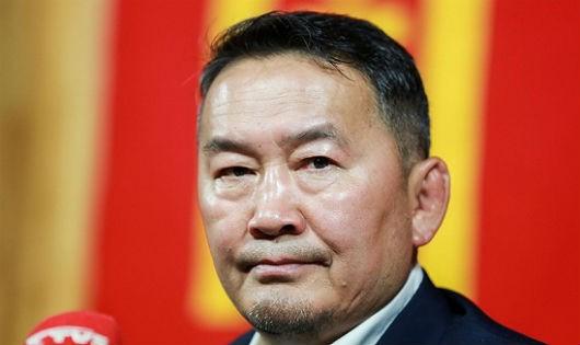 Võ sĩ vô địch thế giới trở thành Tổng thống Mông Cổ