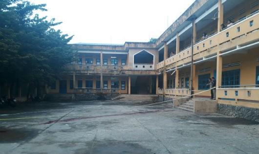 Khu nội trú nữ, nơi xảy ra vụ án