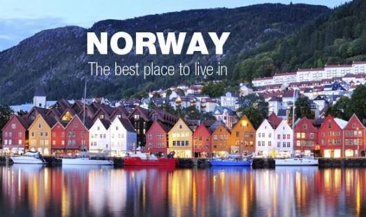 Hình ảnh đất nước Na Uy xinh đẹp, hiền hòa