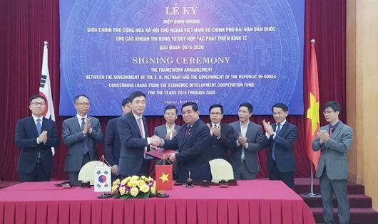 Hàn Quốc cung cấp cho Việt Nam khoản tín dụng ODA trị giá 1,5 tỷ USD