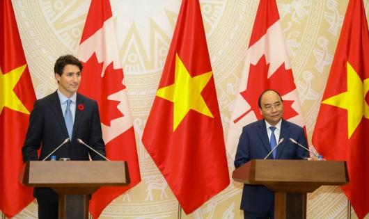 Việt Nam – Canada nâng cấp quan hệ lên đối tác toàn diện