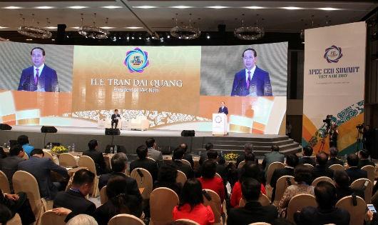 Chủ tịch nước phát biểu tại Hội nghị