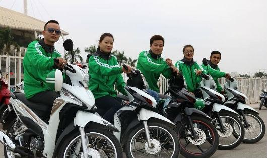 Trong đội ngũ xe ôm công nghệ có không ít tài xế là nữ