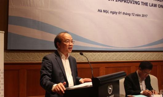Thứ trưởng Phan Chí Hiếu phát biểu khai mạc Hội nghị