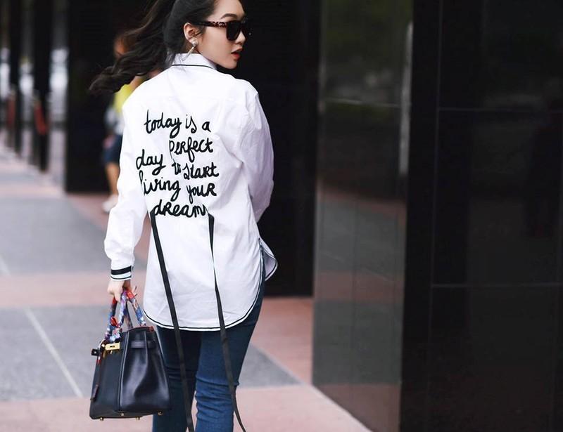 Chloe Nguyen: Hot girl Sai thanh so huu gout thoi trang sanh dieu hinh anh 7