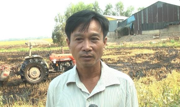 Anh Nguyễn Văn Đế. Ảnh: Báo Đồng Tháp.