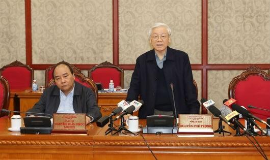Tổng Bí thư Nguyễn Phú Trọng chủ trì phiên họp