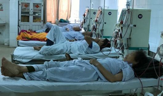 Tới nay chưa có cơ sở lọc máu riêng dành cho bệnh nhân HIV/AIDS suy thận
