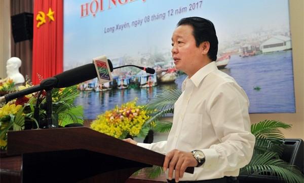 Bộ trưởng Trần Hồng Hà phát biểu tại Hội nghị
