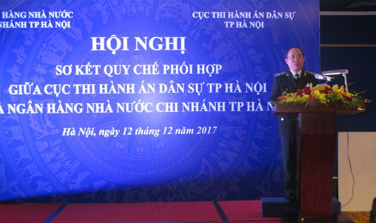 Hà Nội: Phối hợp trong THADS góp phần xử lý dứt điểm nợ xấu