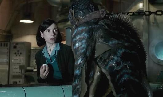 """Phim """"The Shape of water"""" về mối tình giữa cô gái câm và thuỷ quái được 7 đề cử"""