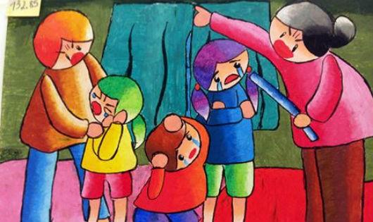 """Yêu con bằng đòn roi - """"quyền lực"""" khó bỏ của cha mẹ Việt?"""