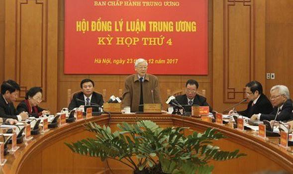 Tổng Bí thư Nguyễn Phú Trọng phát biểu tại Kỳ họp