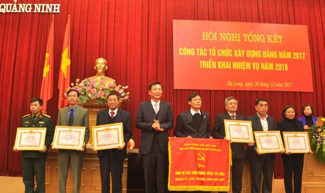Quảng Ninh: Ban Tổ chức cấp ủy các cấp phải minh bạch trong nói và làm