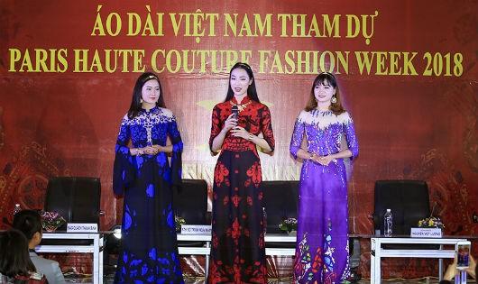 3 trong 30 bộ thiết kế của Đỗ Trịnh Hoài Nam sẽ mở màn Paris Fashion Week - Haute Couture 2018