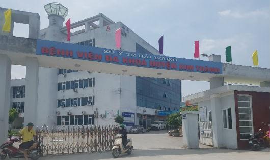 Bệnh viện huyện Kim Thành nơi xảy ra vụ việc