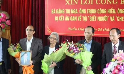 Xin lỗi công khai vụ 3 mẹ con bà Đặng Thị Nga bị kết án oan ở Tuần Giáo, Điện Biên