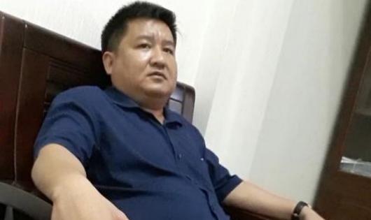 Ông Ngô Tuấn Hạnh –Trưởng Ban QLDA ĐTXD, GPMB & PTQĐ huyện Lập Thạch