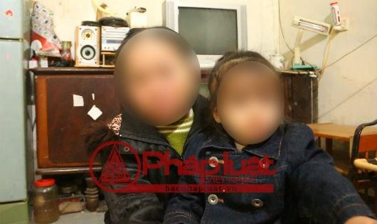 Chị H và cháu V.T.T.M nạn nhân trong nghi án hiếp dâm trẻ em