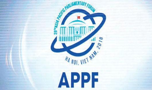 Hội nghị APPF-26 sẽ diễn ra tại Hà Nội từ ngày 18/1 tới