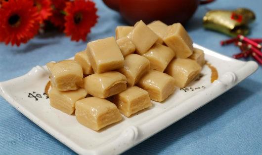 Tự làm kẹo dừa thơm ngon đón tết
