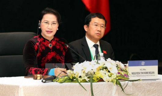 Chủ tịch Quốc hội Nguyễn Thị Kim Ngân, Chủ tịch APPF-26 phát biểu