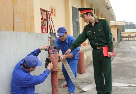 Định kỳ kiểm tra khả năng hoạt động của các trụ nước cứu hỏa.