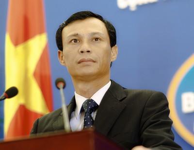 Người phát ngôn Bộ Ngoại giao Lương Thanh Nghị