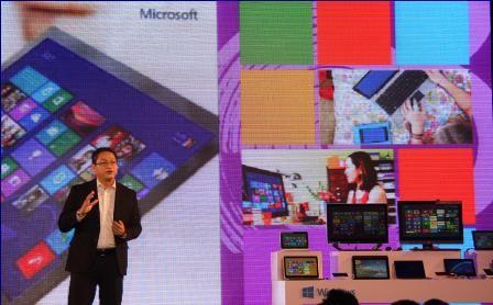 TGĐ Microsoft Việt Nam giới thiệu về Windows 8.