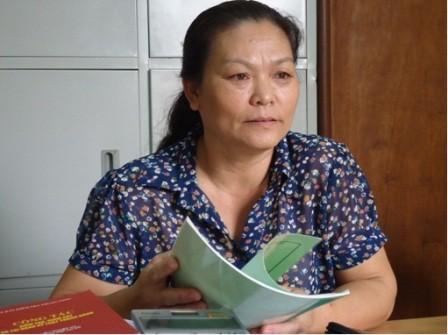 Bà Đỗ Thị Mai Lan.