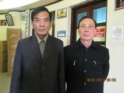 TS Khôi (trái) và TS Phương