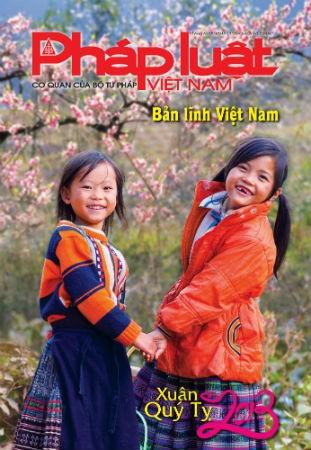 Báo Pháp luật Việt Nam Xuân Quý Tỵ 2013
