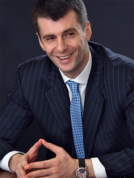 Tỷ phú Mikhail Prokhorov.