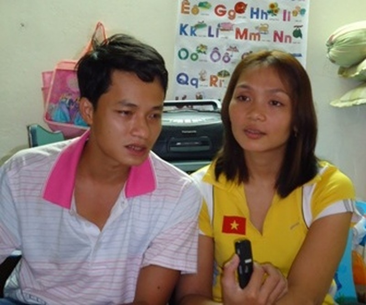 Vợ chồng Hán - Thanh