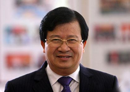 Bộ trưởng Xây dựng Trịnh Đình Dũng