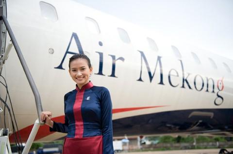 Sau hơn 2 năm hoạt động, Air Mekong sắp sửa ngừng bay với lý do tìm loại máy bay khác thích hợp hơn. Ảnh: Air Mekong